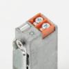 Szimmetrikus, keskeny, alacsony, pajzs nélküli elektromos zárfogadó DORCAS-99N512F