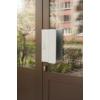 Kifele nyíló műanyag és alumínium ajtók síkmágnes megoldása ATOM-22