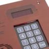CODEfon új digitális központ esővédővel kis méretű, süllyesztett CF-NDIG-111S