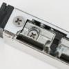 Elektromos zárfogadó visszajelzéssel nyelvkivetővel DORCAS-99NF305-412-TOP-PRE