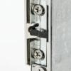 Szimmetrikus pajzs nélküli elektromos zárfogadó DORCAS-99NF305-512-TOP