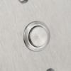 Mikrokapcsolós nyomógomb pajzzsal - NO PBK-C-19-NO