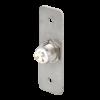 LED-es mikrokapcsolós nyomógomb pajzzsal - NONC - piros-zöld - cseppálló (IP65) PBK-B-19-NONC(LED)-rdgn