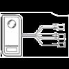 Vízálló kültéri RFID olvasó (IP66) S1-XB