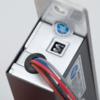 Cilinderes süllyesztve szerelhető, csapott nyelvű csapzár YB-600C(LED)