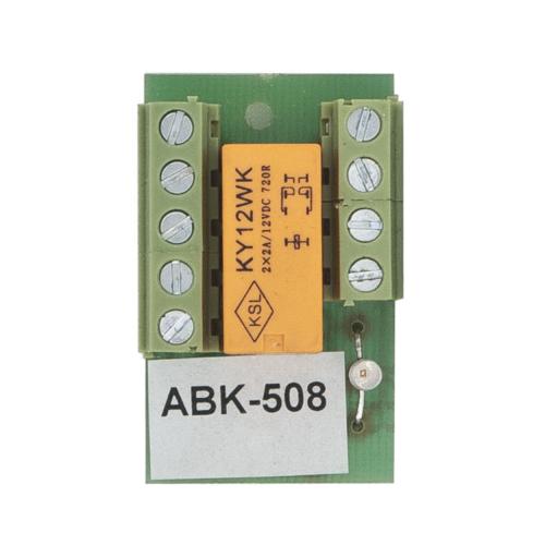 Két morzés kapcsoló relé PCB-508