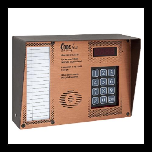CODEfon új digitális központ esővédővel kis méretű CF-NDIG-111HF