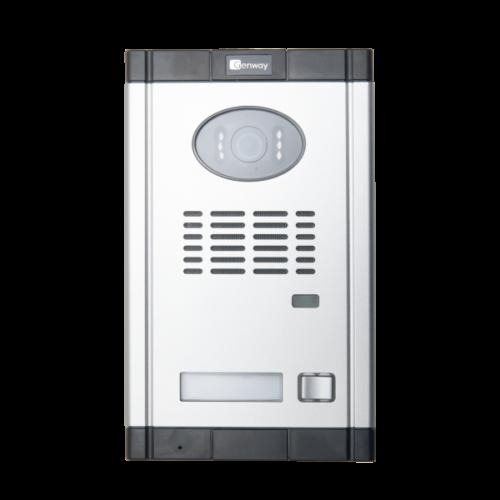 Fekete-fehér 4 vezetékes videó kaputelefon szett G-F5D50