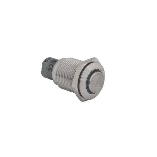 Nyomógomb fém vízálló IK-PB-16-PK-24-rdbl