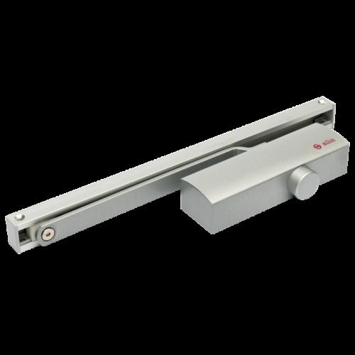 Csúszósínes hidraulikus ajtócsukó, 40-65kg-os ajtóra SA-8023-sv