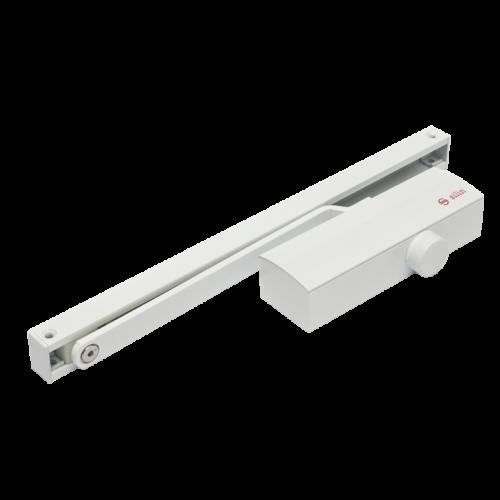 Csúszósines hidraulikus ajtócsukó, 40-65kg-os ajtóra SA-8023-wh