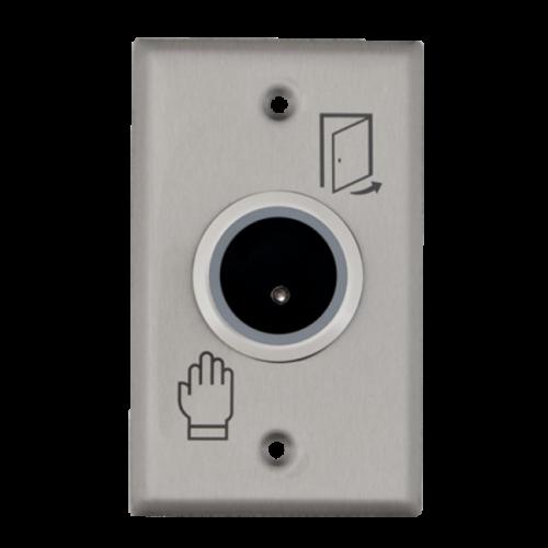 Infravörös érzékelős nyomógomb, LED kapcsolóállapot jel. ISK-801E