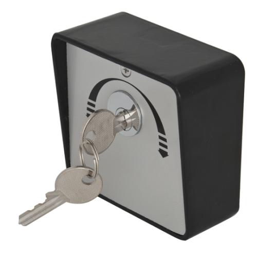 Kulcsos kapcsoló, rácsos ajtókhoz, legördülőajtókhoz YKS-803D2