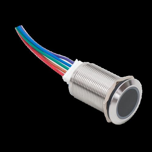 Infravörös közelítőérzékelő kapcsoló, gomb ISK-801C-19FP