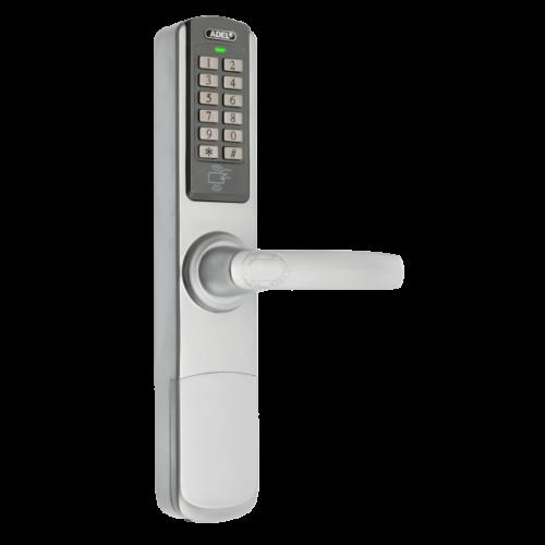 Önálló működésű kódos és kártyaolvasós ajtózár DLA-5500-PW
