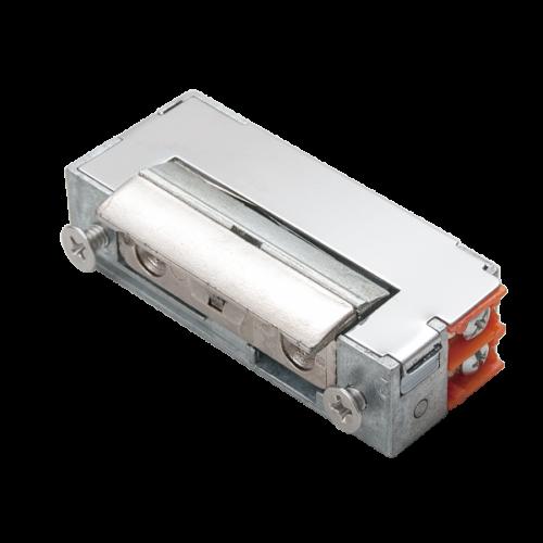 Keskeny, alacsony pajzs nélküli elektromos zár, külső memóriás (csapos) DORCAS-99AbF