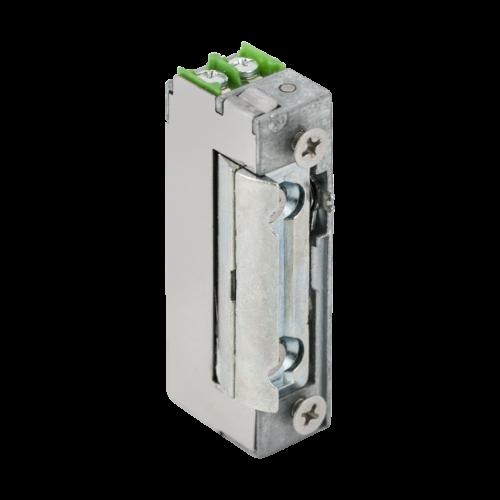Szimmetrikus, alacsony, kikapcsolható, elektromos zárfogadó DORCAS-99NDF