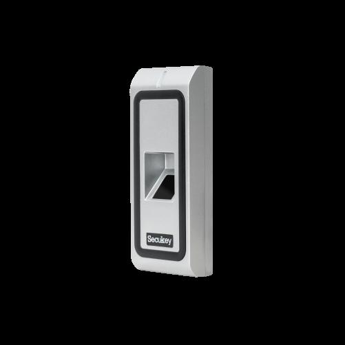 Önálló működésű, ujjlenyomat és RFID (125kHz) olvasó F2-EM