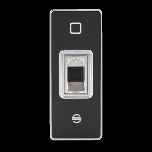 Önálló működésű, ujjlenyomat és RFID (125kHz) olvasó F6EM-W