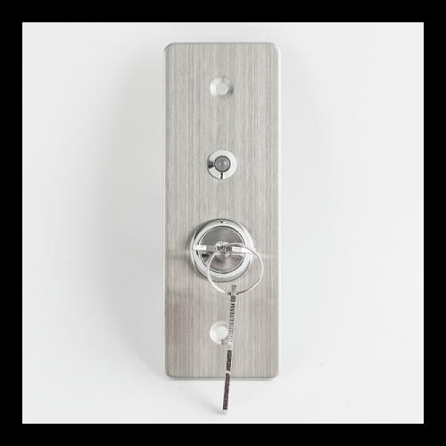 Kulcsos kapcsoló LED-el KY-C-SS-2-rdgn
