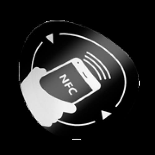 NFC matrica újraírható chippel NFC-3513-bk