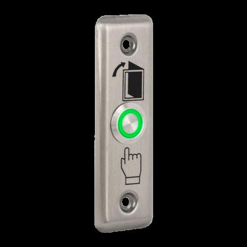 LED-es nyomógomb NO-COM kontakttal PBK-811A(LED)-gn