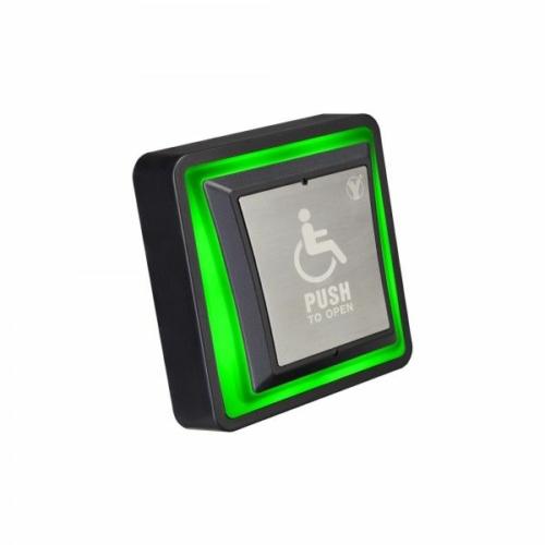 Mozgássérült nyomógomb LED állapotjelzéssel PBK-871(LED)