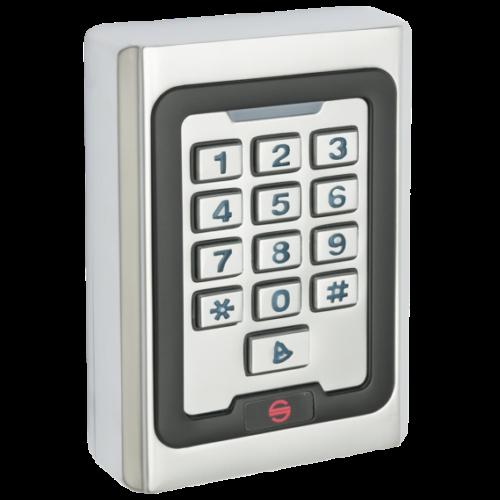 Vandálbiztos burkolatos, kültéren is használható tasztatúrás kártyaolvasó SK-500