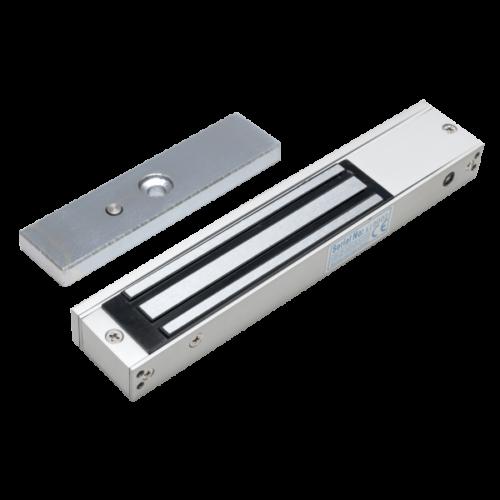 Rátét szerelésű síktapadó mágnes beltéri ajtókra, ablakokra 150kg.SM-150LEDA