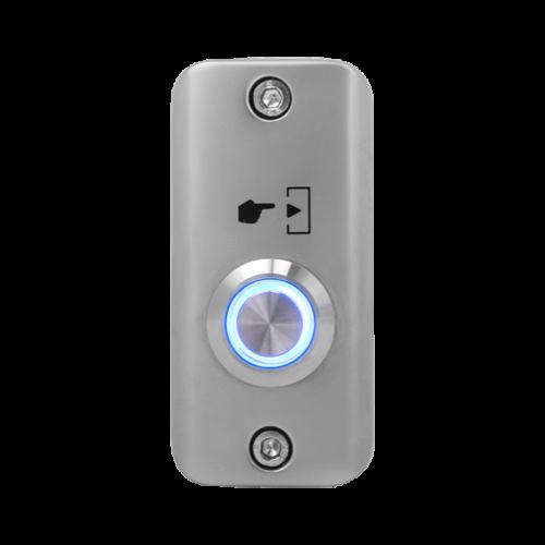 Felületre szerelhető NO LED-es nyomógomb SMB-S001(LED)-bl