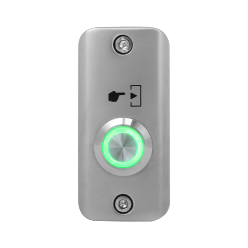 Felületre szerelhető NO LED-es nyomógomb SMB-S001(LED)-gn