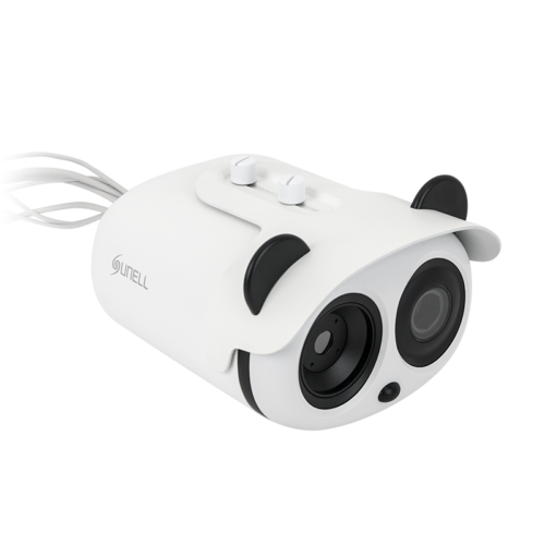 Hőmérséklet érzékelős dupla kamera referencia mérőeszközzel SN-T5+SN-TH01