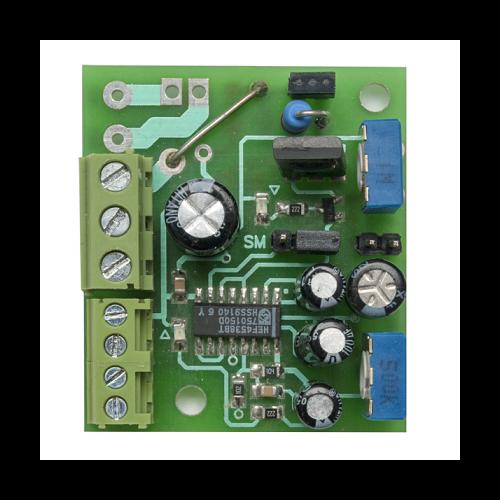 Tranzisztoros időzítő modul késleltetővel T-100-2