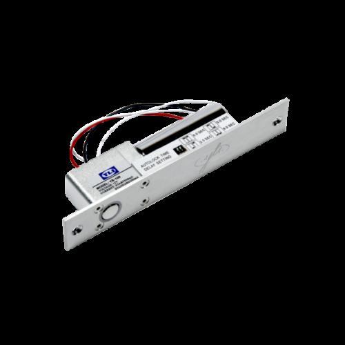 Elektromos csapzár mágneses ellendarabbal, időzítéssel és visszajelzéssel YB-100+