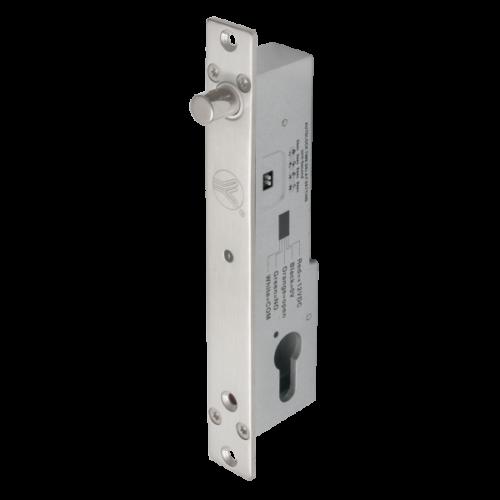 Mini csapzár cilinderzárral LED állapotjelzéssel YB-500C(LED)