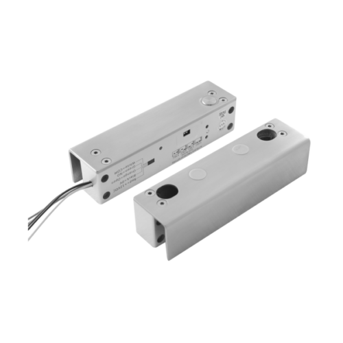 Mini elektromos csapzár mágneses ellendarabbal, üvegajtó konzollal YB-500U(LED)