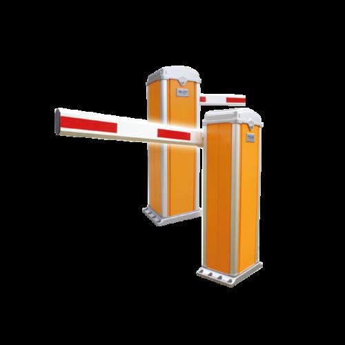 Narancs színű, szinterezett, automata sorompó YK-BAR6011-6