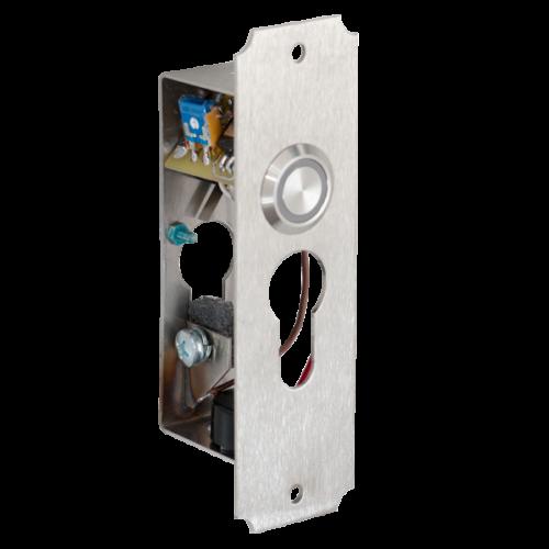 Világító nyomógombos időzítős kulcsos megszakító YX-300T+B