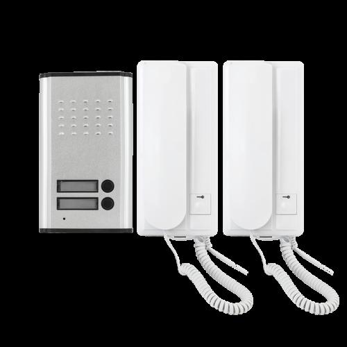 Kétlakásos audio kaputelefon szett ZDL-3208AA